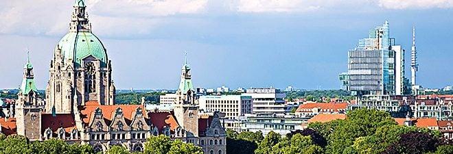 Singles in Hannover: Panoramabild Hannover von oben