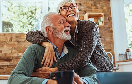 Frau und Mann Senioren