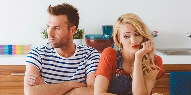 Frau und Mann Beziehung auffrischen